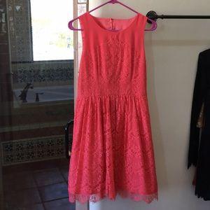 Jessica Simpson Coral Dress